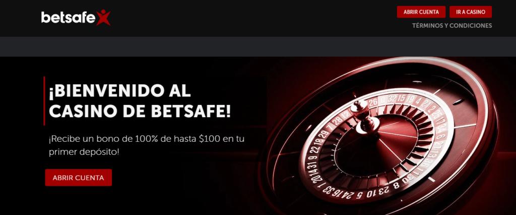Diviértete en BetSafe Casino México