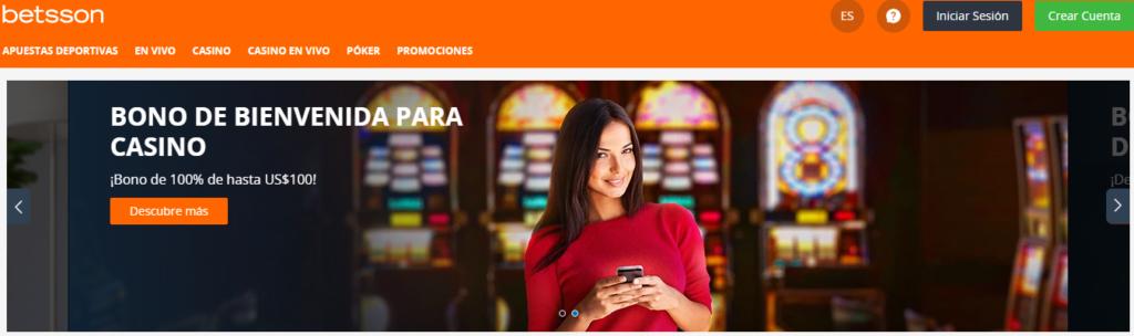 Regístrate en Betsson Casino México