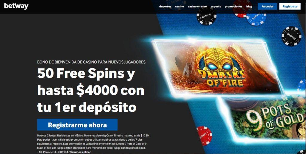Betway Casino México