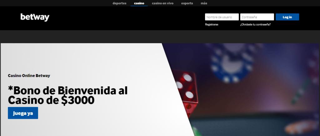 Diviértete en Betway Casino México