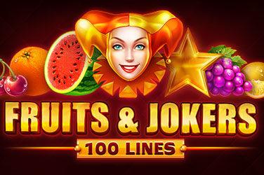 Fruits & jokers: 100 lines