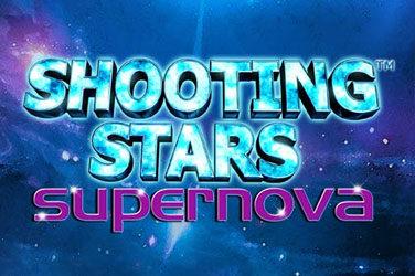Shooting stars supernova