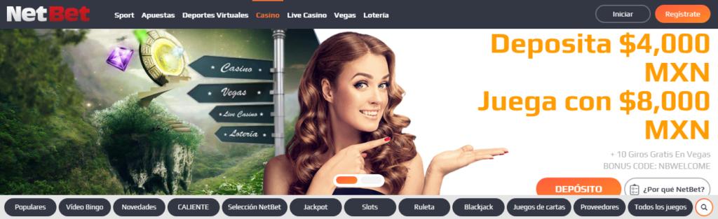 Diviértete en NetBet Casino México